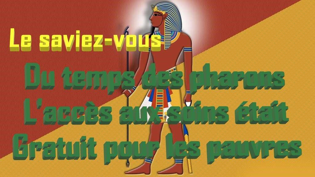 médecine des pharaons