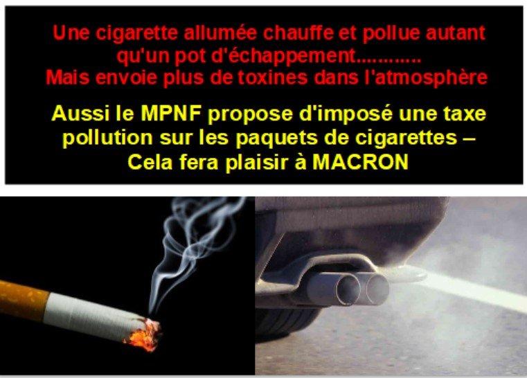 Taxe polution